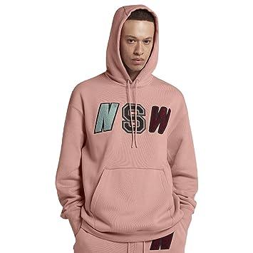 uk availability 65b6e 38591 Nike M NSW NSW Hoodie PO FLC Sweatshirt, Herren: Amazon.de ...