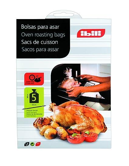 Amazon.com: IBILI 753700 5 OVEN ROASTING BAGS 25X38 CM ...
