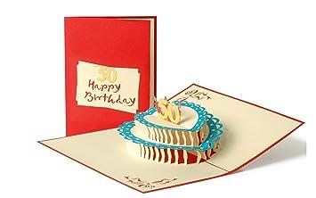 Geburtstagskarte Gluckwunschkarte 50 50er Geburtstag 50 Jahre