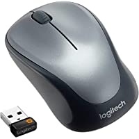 Logitech Wireless Mouse M235, Black/Grey