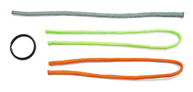 HABA 303622 - Terra Kids Paracord-Set, cooles Bastelset zum Flechten, Knüpfen und Knoten von Armbändern und Schlüsselanhängern für Kinder, inklusive Anleitung mit Knüpfideen und Knotentipps