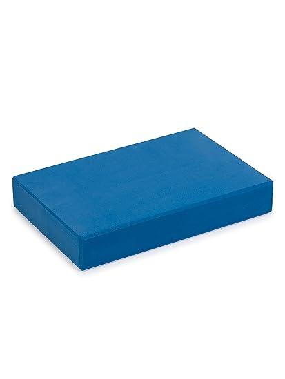 1 x EVA Foam Yoga Block - Blue by YogaStudio: Amazon.es ...