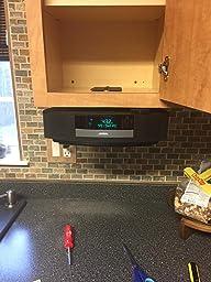 Amazon Com Bose Wave Under Cabinet Wall Bracket Home