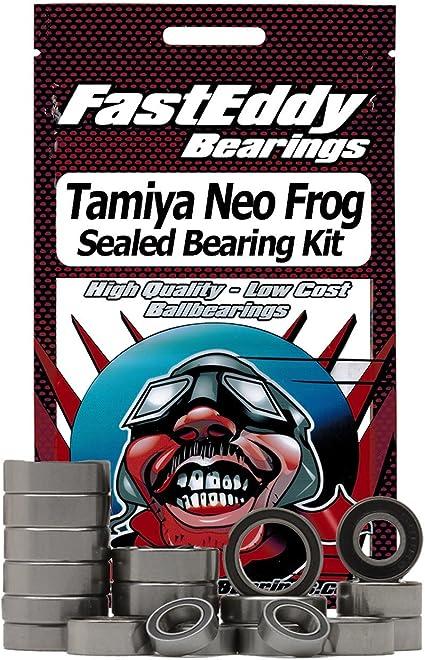 Ceramic Rubber Sealed Ball Bearing Kit for RC Cars Tamiya Neo Frog XB DT-03