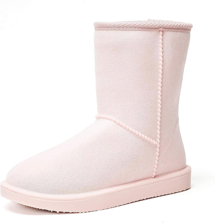 Schlupfstiefel Halbstiefel Schneestiefel Boots Dksuko Damen Winter … Warm Stiefel 36 42eu Gummistiefel Klassisch Wasserdicht Gefüttert lF3KTJc1