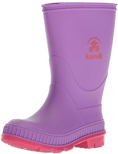 Kamik Unisex-Kinder Rainplay Gummistiefel, Violett (Purple/Violet), 25 EU