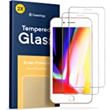 iPhone 8 Plus Screen Protector, Caseology [Tempered Glass - Case Friendly] Ultra Slim HD Clear 9H Anti-Scratch Film for Apple iPhone 8 Plus (2017) / iPhone 7 Plus (2016) - 2 Pack
