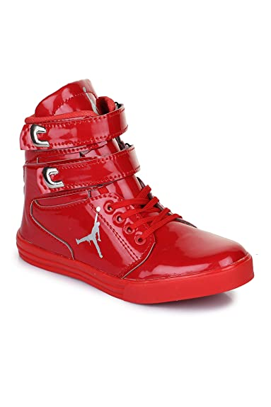 ed41f731c6a Men Casual Red Casual Dancing Shoes :: Appe-00284