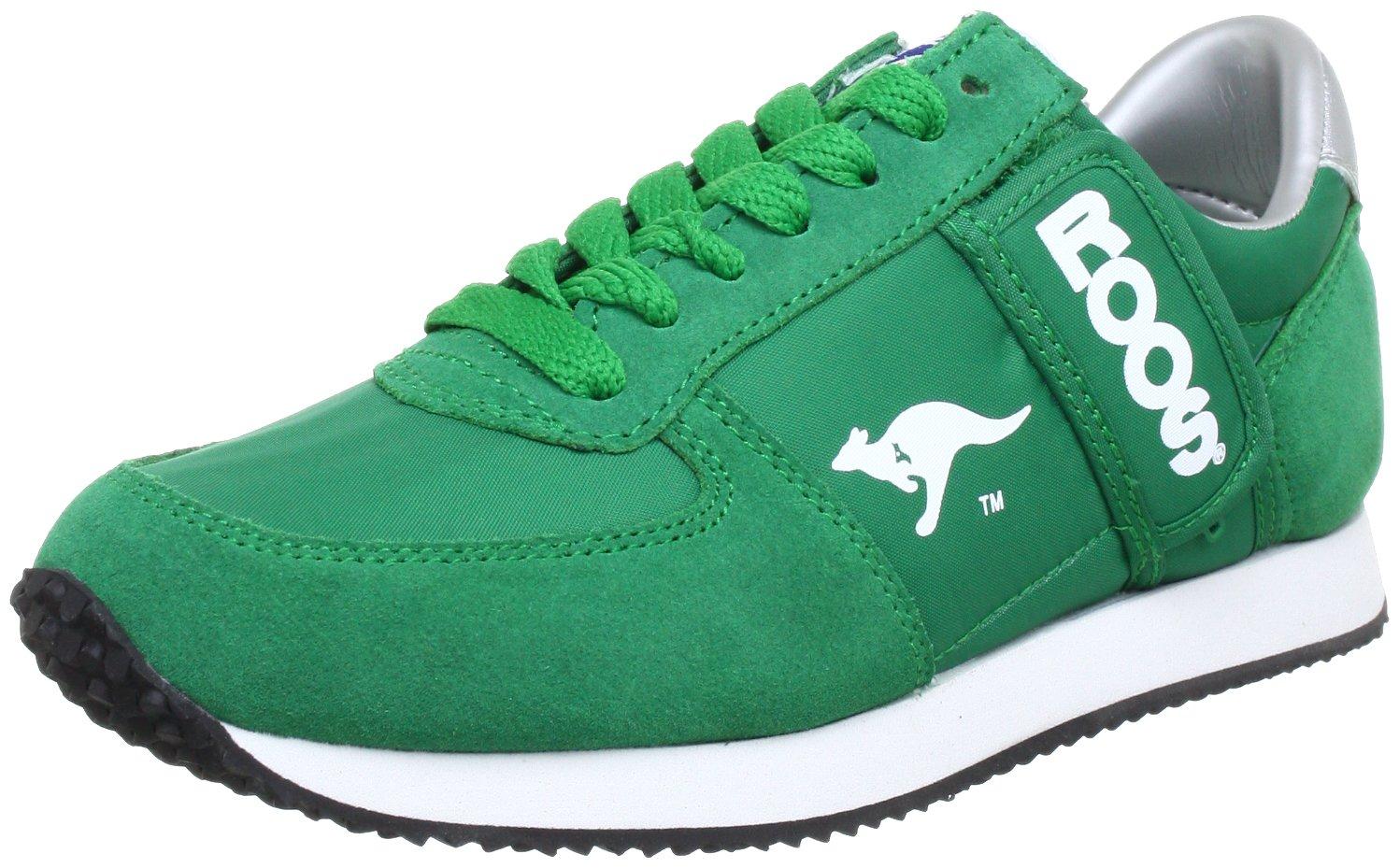 Kangaroos 71490 - Zapatillas de cuero para hombre, color negro, talla Fällt aus Normal 40 EU|Grün (Green 800)
