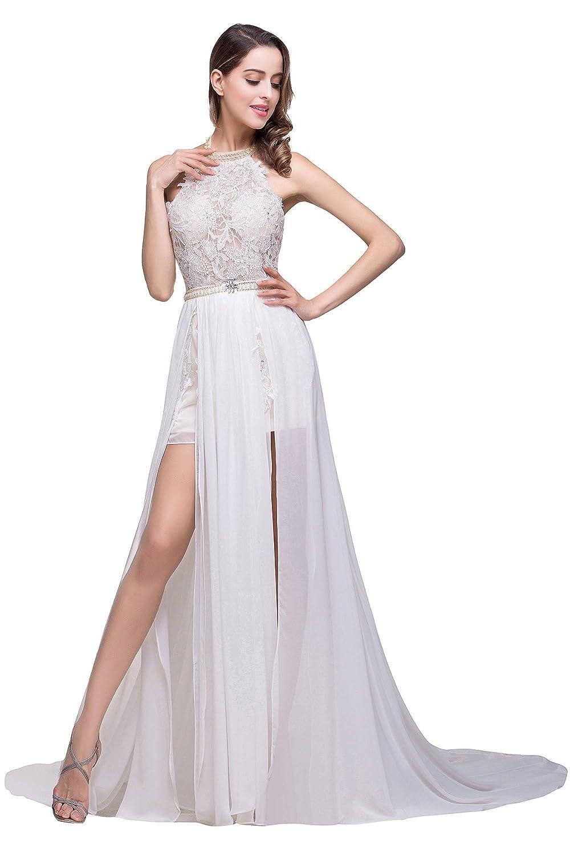 MisShow 2017 Damen Elegant Abendkleid Partykleider ...
