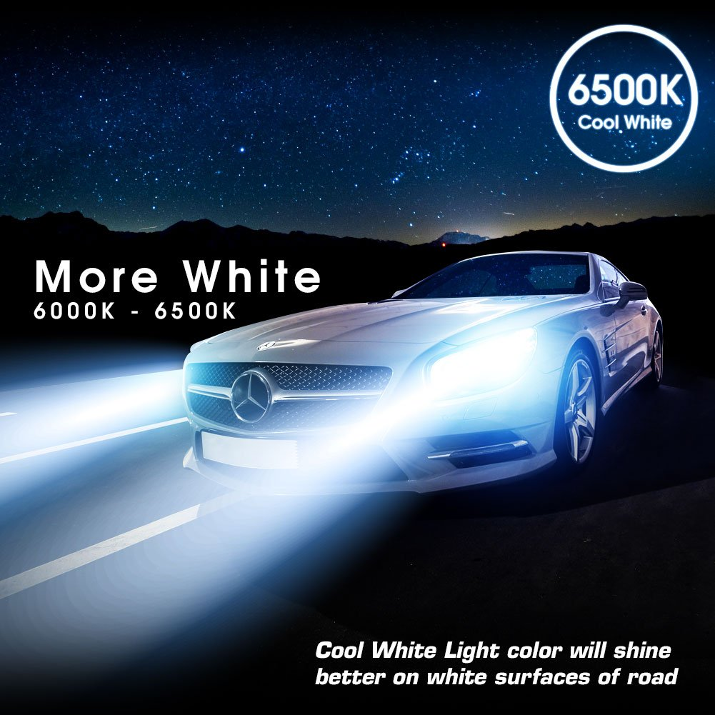 2 In 1 Led Headlight Conversion Kit With Rgb Demon Wiring Diagram For 1961 Cadillac All Series Part Accent Lights 9006 Hb4 Automotive