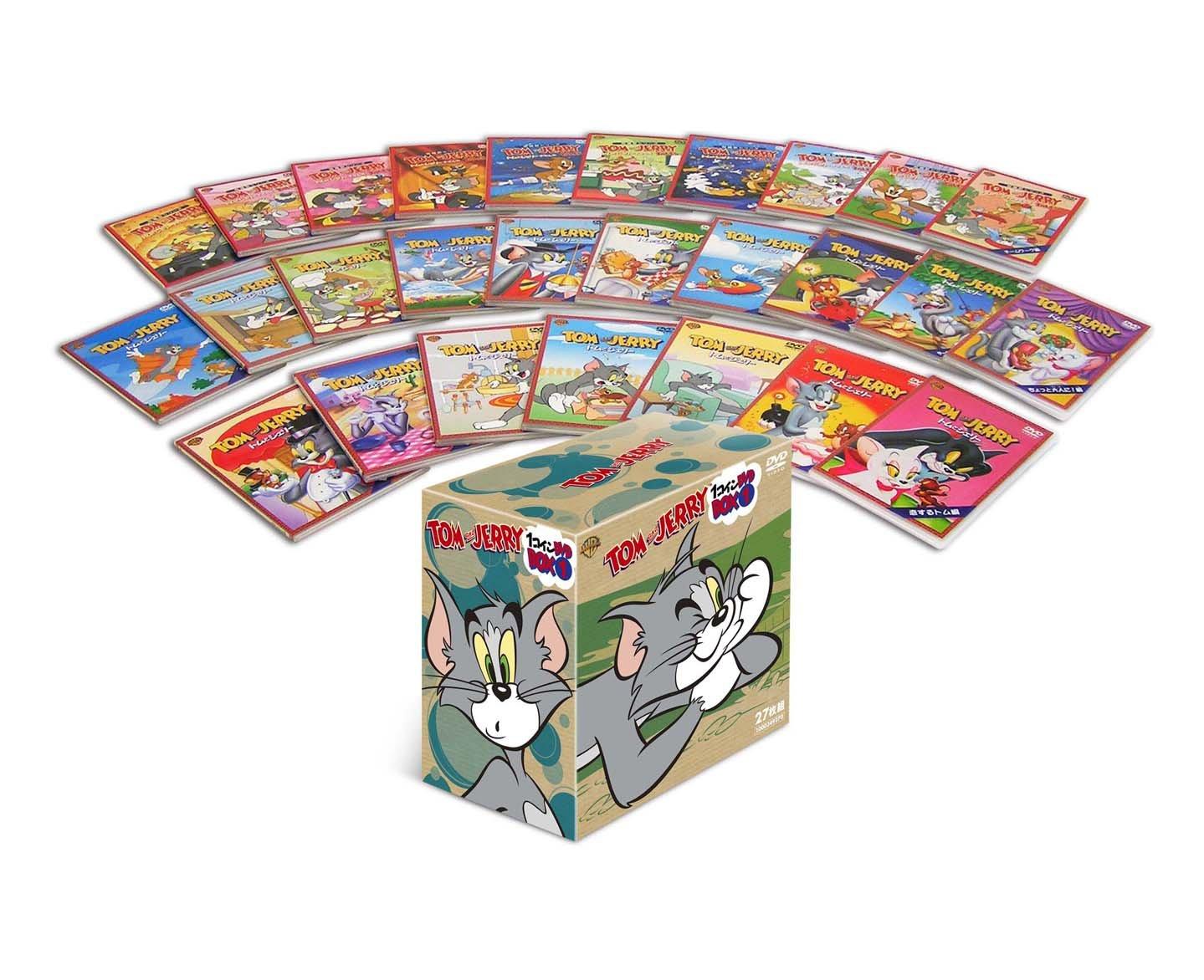 【初回限定生産】トムとジェリー 1コイン DVD BOX I (27枚組) B008X09UV4