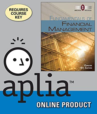 Amazon aplia for brighamhoustons fundamentals of financial aplia for brighamhoustons fundamentals of financial management concise edition 8th edition fandeluxe Image collections