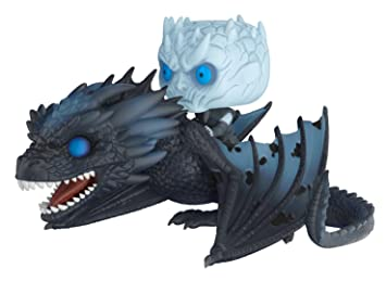 Funko 28671 Pop Rides Game Of Thrones Night King On Dragon Collectible Figure Multicolor