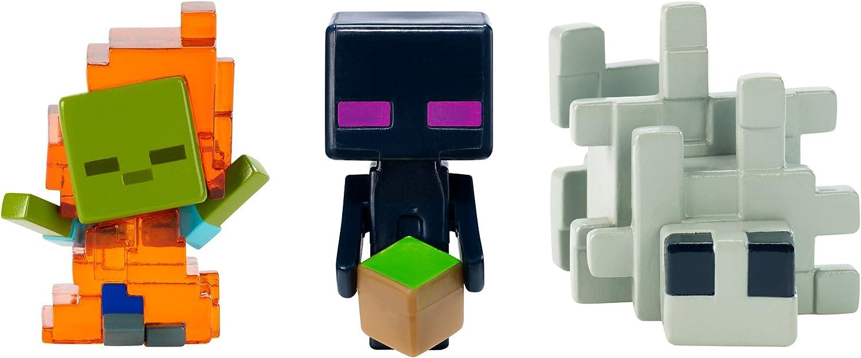 Used w//o Original Box Minecraft Mini-figure Zombie In Flames