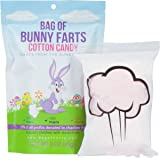 Bag of Farts Cotton Candy Funny for All Ages Unique Birthday Gag Gift for Friends, Mom, Dad, Birthday Girl, Boy Grandson Granddaughter Present Easter Basket Fun