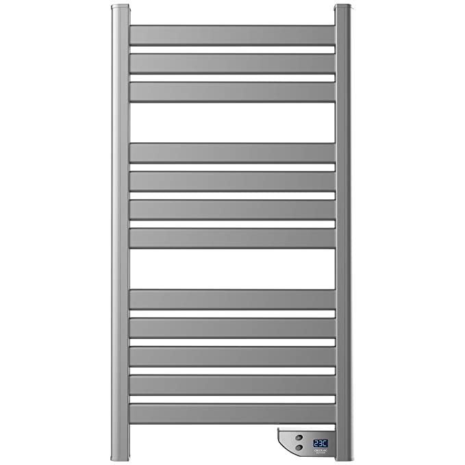 450 W. Seca Toallas. IP24. Temporizador. Pantalla. Potente. Diseño Moderno. Ready Warm 9000 Twin Towel Steel: Amazon.es: Hogar