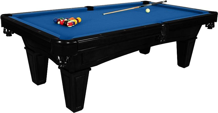 harvil Toscana Onyx pizarra mesa de billar 2,4 metros. Incluye entrega in situ, instalación y accesorios, Azul: Amazon.es: Deportes y aire libre
