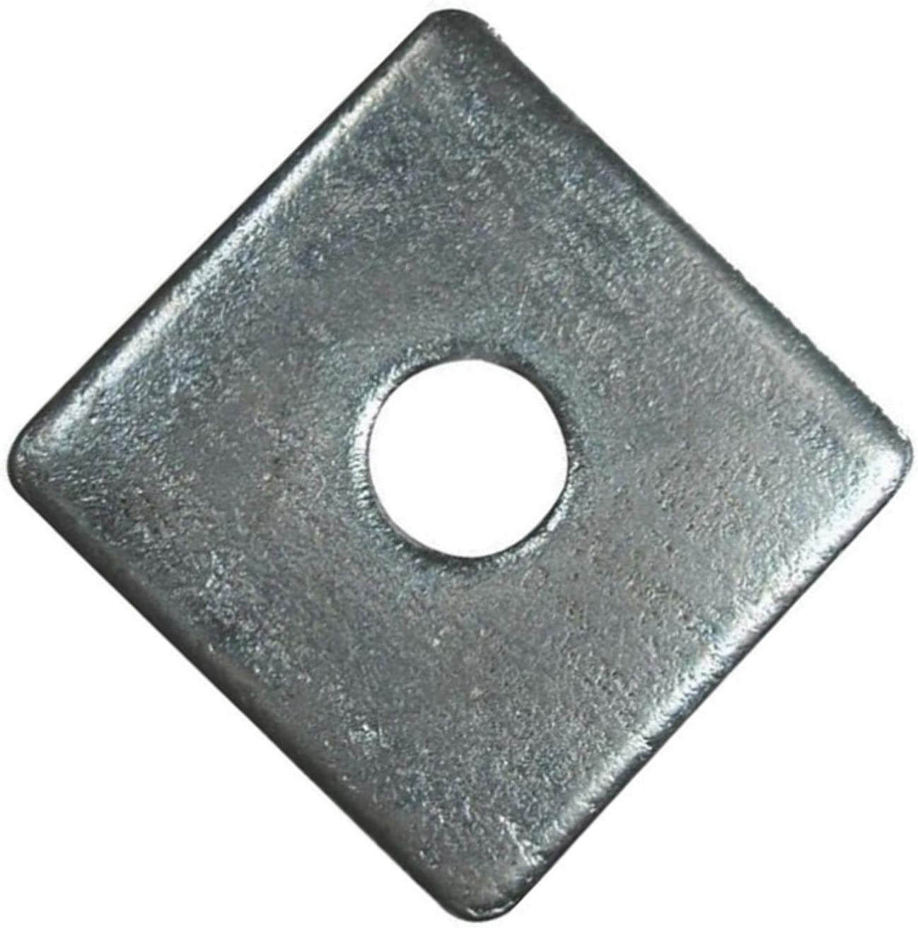 0.131 Inch ID x 0.5 Inch OD 500 PK SS-4-500 Back-Up Washer 1//8 Inch Square Marson Zinc 500//Pack Steel