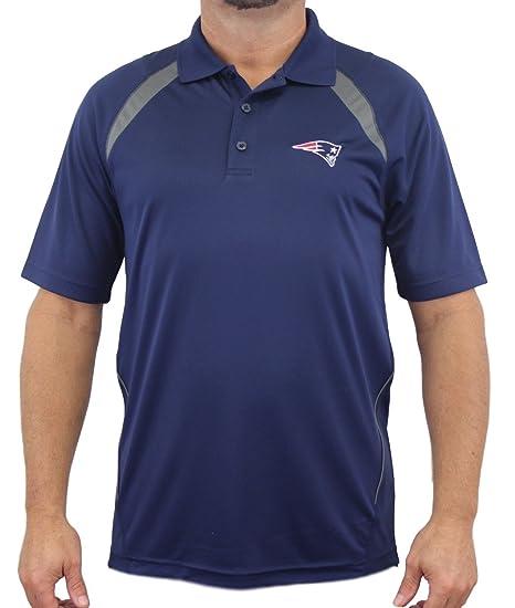 New England Patriots Majestic NFL  quot Winners quot  Men s Short Sleeve  Polo Shirt 6bb91fb42