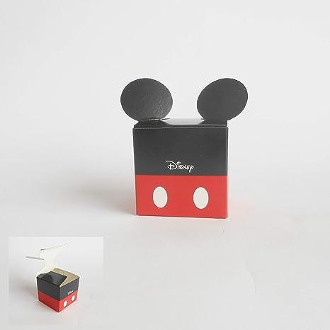 Detalle Caja cubo Confeti Topolino Mikey Mouse Disney set 20 ...