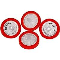 Moxcare Nexflo Syringe Filter (PTFE Hydrophobic) Box of 100 Pieces , 25 mm, 0.45um