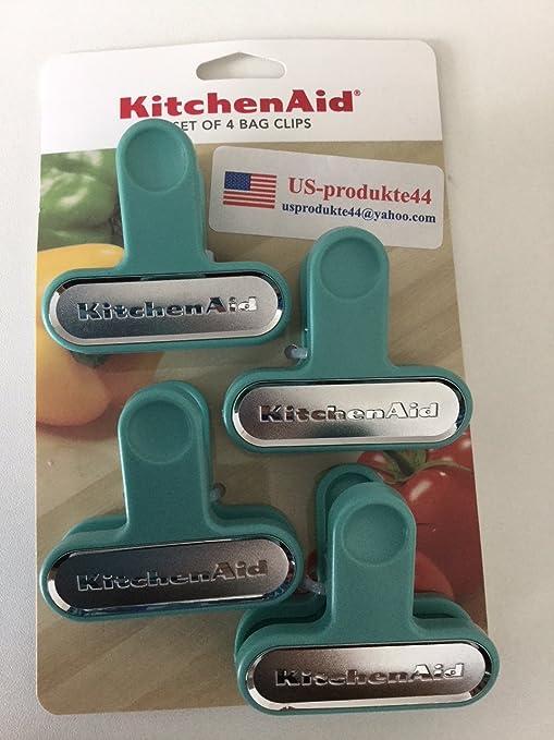Amazon.com: KitchenAid Snack - Juego de pinzas para bolsa de ...