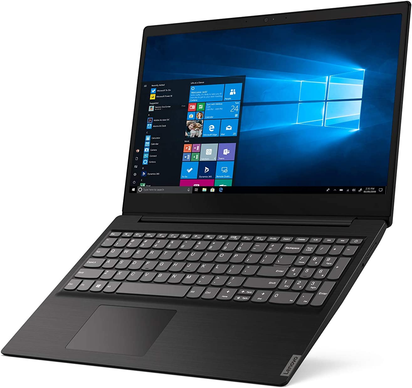 "Lenovo 15.6"" High Performance Laptop, Intel Celeron 42050U Dual-Core Processor, 4GB DDR4 RAM, 128GB SSD, Webcam, Wireless+Bluetooth, HDMI, Window 10 (Intel Processor)"