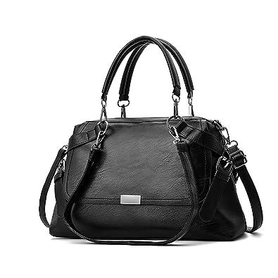 9265db75d4 Tisdaini Designer Bags PU Leather Ladies Handbags Online Shoulder Bag  Women's Handbags Purse Black