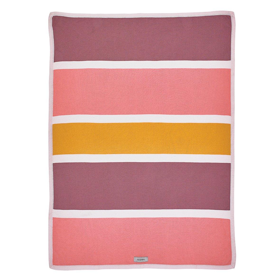 Noukies BB1620.43 M&V Jacquard Decke, 75 x 100 cm, mehrfarbig