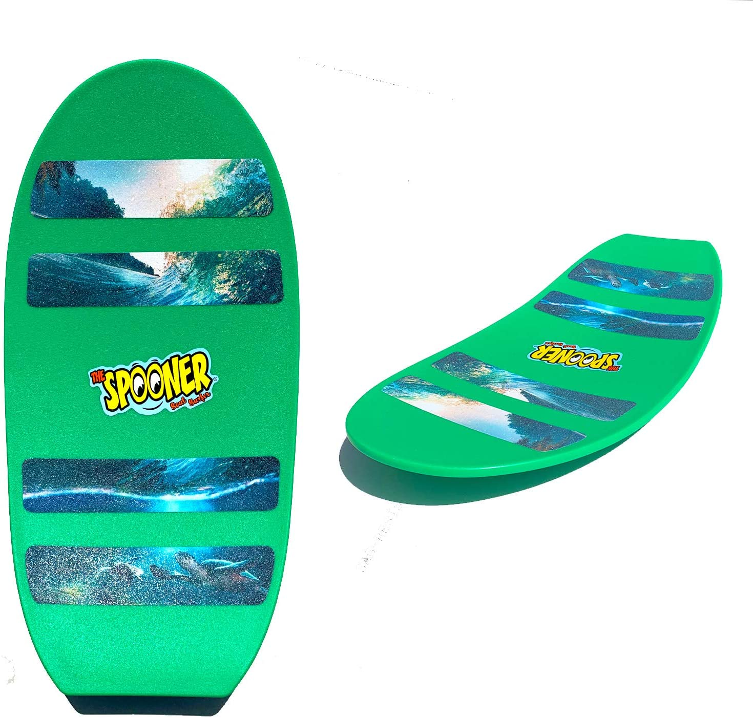 Spooner Boards Freestyle - Green: Toys & Games