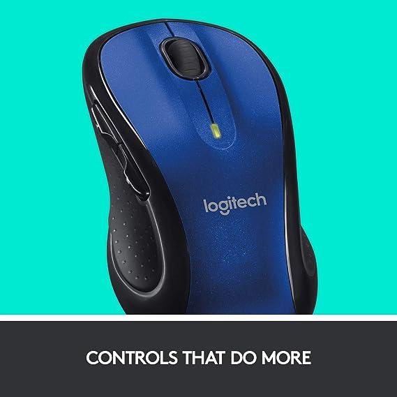 Logitech M510 Wireless Mouse Blue Baumarkt