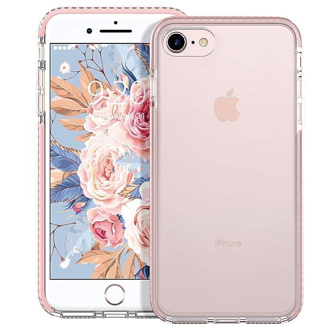 8 opinioni per MATEPROX Cover iPhone 8, Cover iPhone 7, Custodia Protezione Slim Anti Scivolo