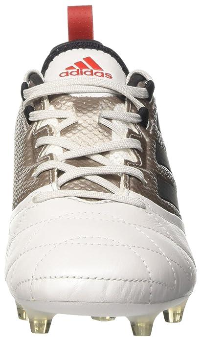 sale retailer d362a f5d3b adidas Ace 17.1 FG W, Zapatillas de Fútbol para Mujer, Blanco (Platin  Metallic BlackCore Red), 36 EU Amazon.es Zapatos y complementos