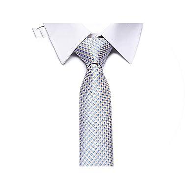 come serch i più votati più recenti Sito ufficiale Classic Plaid Mens Luxury Silk Men Ties Checked Formal ...