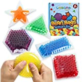 Sensory Water Beads Toy for Kids 6 Pack, Shapes Learning Toy for Toddlers, Fidget Stress Balls for Autism/ Anxiety…
