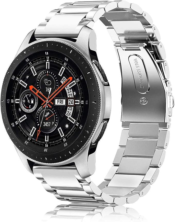 Fintie Correa Compatible con Samsung Galaxy Watch 3 (45mm) / Galaxy Watch 46mm / Gear S3 Classic / Gear S3 Frontier: Amazon.es: Electrónica