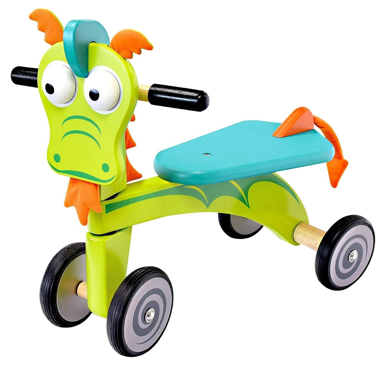 IM TOY Correpasillos Andador de madera El Dragón verde - IM87670