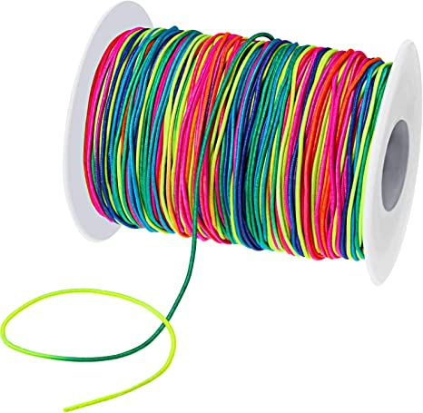 Amazon Com Elastic Cord Beading Crafting Stretch String Beading