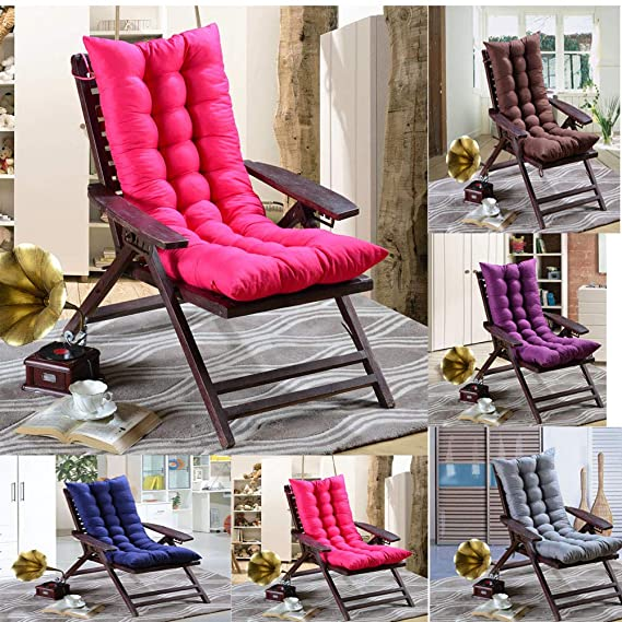 Amazon.com: Alalaso Quilted Rocking Chair Cushion Set ...