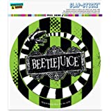 Graphics and More Beetlejuice Beetle Worm Novelty Metal Vanity Tag License Plate