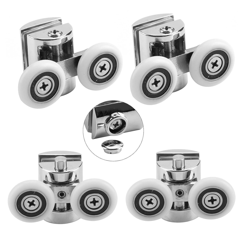 Door wheels top double shower door wheel 22mm 23mm 25mm - Roulette de porte de douche ...