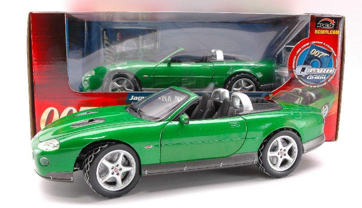ERTL RC2 RT33850 Jaguar XKR Roadster 007 1:18 MODELLINO Die Cast Model