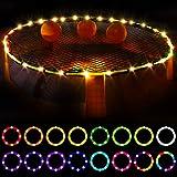 Waybelive LED Hoop Lights for Blinngoball Game,Spike Game,Remote Control Rim LED Light Compatible with Blinngoball Game,Spike