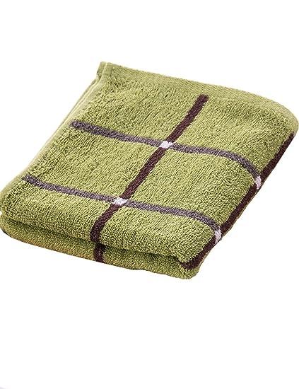 TOWEL Toallas - 2 Tiras de algodón Ingrediente Que se Lava Hogar Toallas Grandes para Hombres