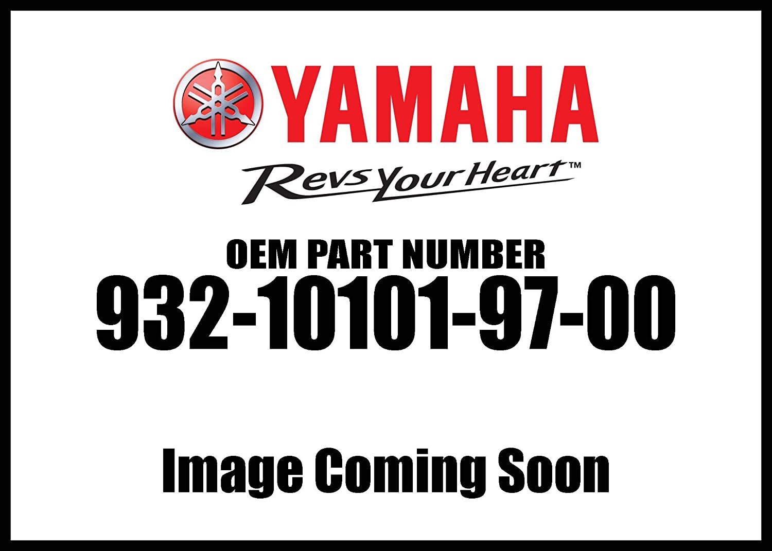 Yamaha 93210-10197-00 O-RING; 932101019700