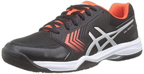 official photos 595cf 1db40 ASICS Gel-Dedicate 5, Scarpe da Tennis Uomo, Nero (Black Silver