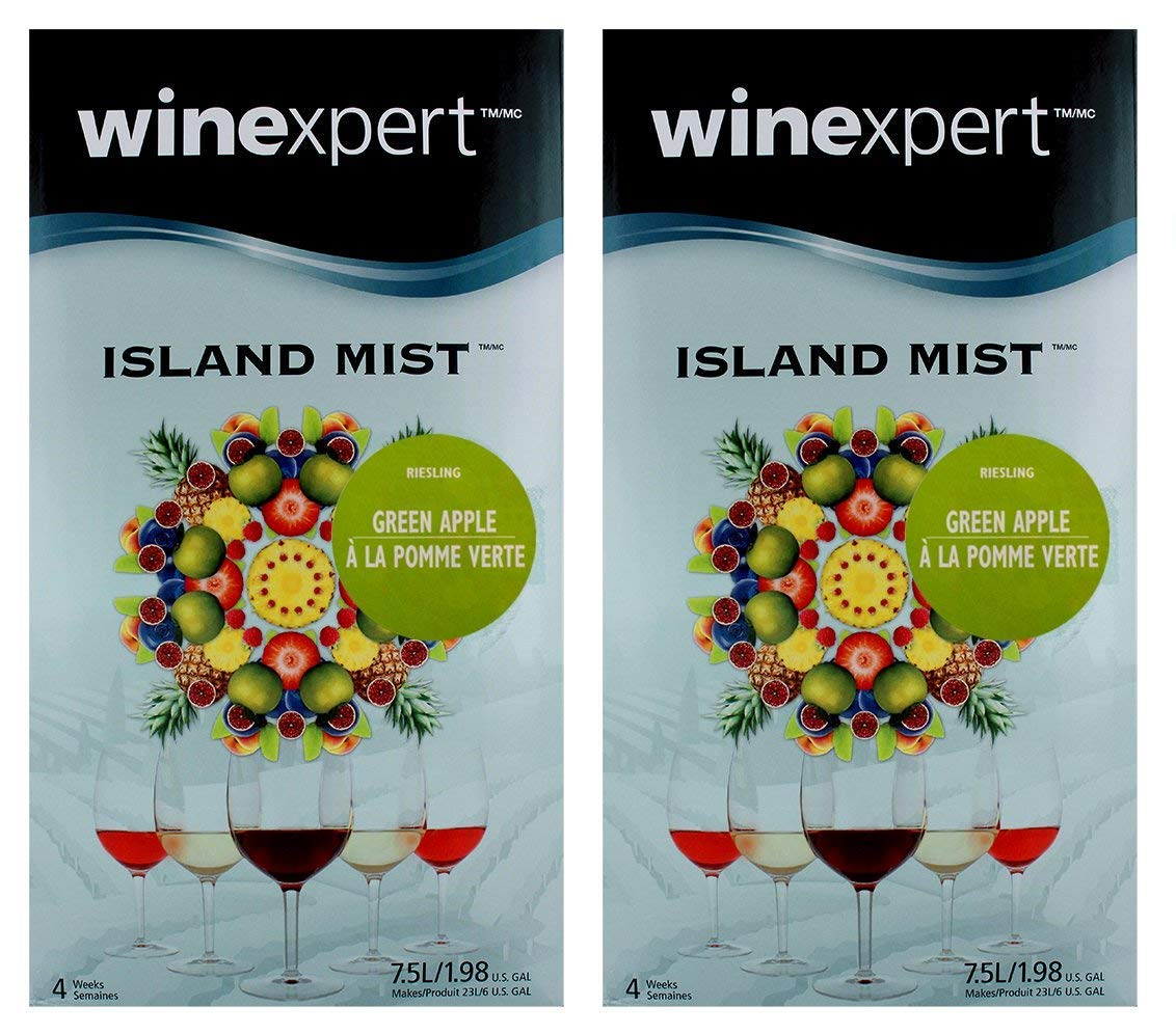 Green Apple Riesling (Island Mist) (2-Pack)