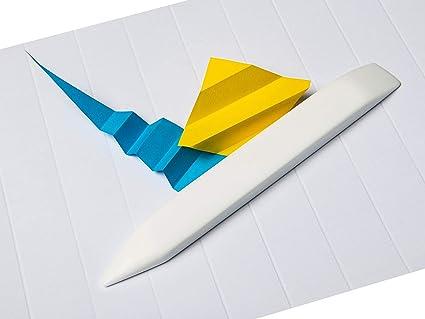 Amazon.com: Milisten 100 Sheet Shiny Origami Paper - 10 Colors ... | 319x425