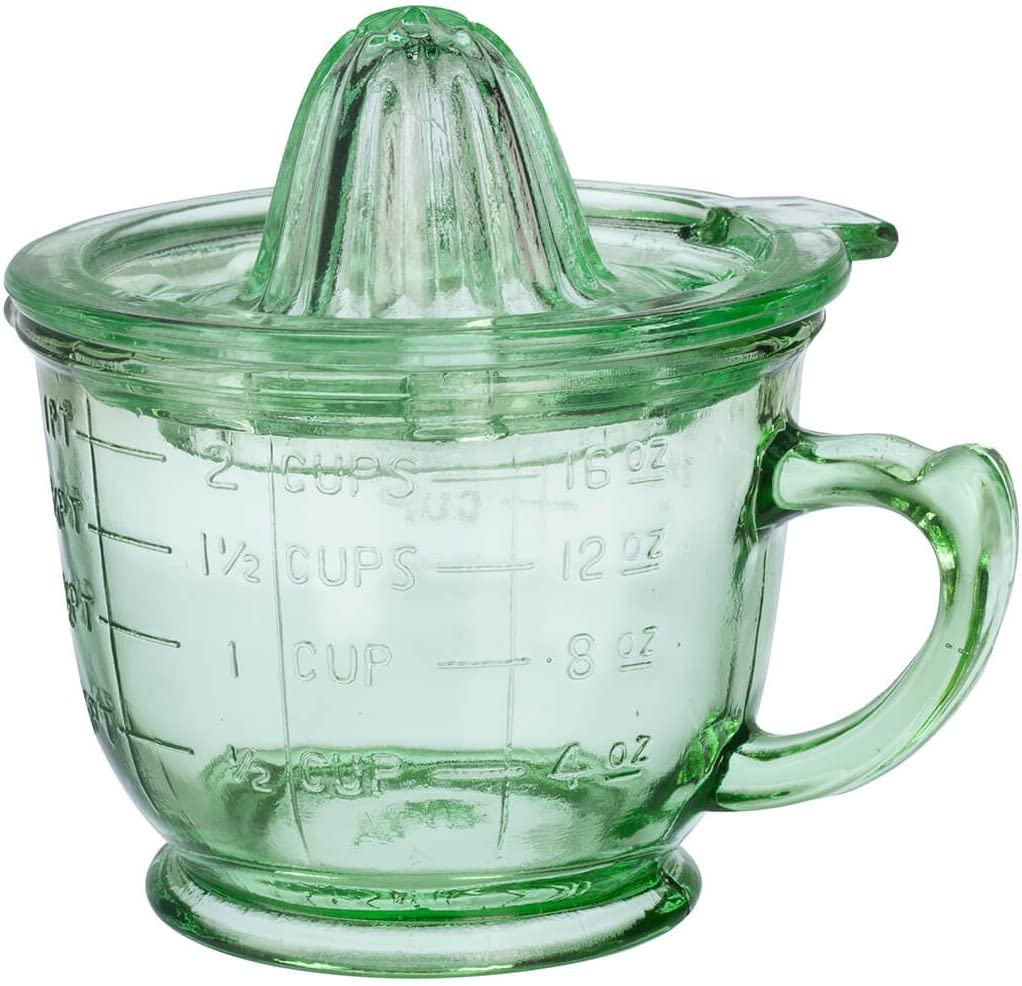 Nostalgia Style 16 oz. Glass Juice